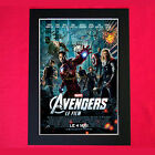 THE AVENGERS Autograph Mounted Signed Photo Reproduction Print A4 263
