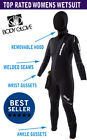 Women's 5mm Scuba Diving Wetsuit Body Glove Atlas Front Zip Hooded Removable!