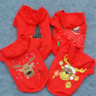New  Small Pet Clothes Dog Cat Coat Xmas Gift Sweater Hoodies Winter Clothes