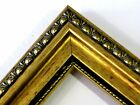 """1 3/8"""" Gold Patina Ornate Wood Picture Frames-Custom Made Square Sizes"""