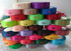 "29 color choose 25 Yards 1""(2.5cm) satin ribbons Wedding occasions decoration"