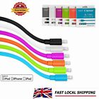 Apple MFI Lightning to USB Pasta Cable 1.5M 2.1A For iPhone 7/6S/6/5S iPad iPod
