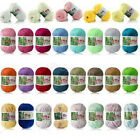 Внешний вид - New 60 Colors Soft Bamboo Crochet Cotton 50g Knitting Yarn Baby Knit Wool Yarn