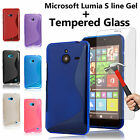 Kyпить TPU S Line Gel Case Cover & Tempered Glass Flim for Nokia/Microsoft Lumia Phones на еВаy.соm
