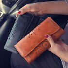 Fashion Women Lady PU Leather Clutch Wallet Long Card Holder Purse Handbag UI