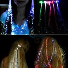 Accessories Hair Beauty LED Colorful Wig LED Light Hair Clip Silk Braid Party