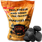 Smokeless Ovals Long Lasting Coal for Open Fires and Multi Fuel Log Burners