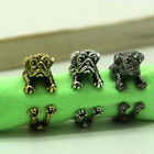 Pug Dog Wrap Around Ring Resize-able Silver, Gold, Bronze Color Best Selling