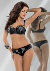 11,5% OFF! Set Grace Balconette Bra by Gorsenia (US&UK sizing) + Brazilian Panty