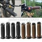 7/8'' Motorcycle Handlebar Hand Grips & Bar End For Cafe Racer Bobber Clubman