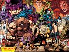 Marvel X-Men No.1: 20th Anniversary Edition: A Villains Gallery Poster