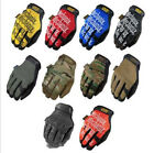 Fashion Full Finger Work Mechanix Protech Motorcycle Sports Racing Riding Gloves