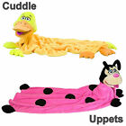 New Cuddleuppets Snugglepets Cuddle Uppets Duck or Ladybug Puppet-Blanket
