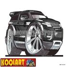 Koolart Cartoon Range Rover Evoque Black - Mens Gifts (3083)