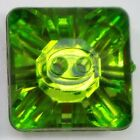 Square 15mm Mirror Back Reflective Faceted Buttons. Gem Sparkle Fun BUY 2 4 8 16
