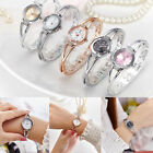Fashion Classic Women Ladies Stainless Steel Analog Quartz Crystal Wrist Watch