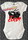 The CLASH creeper British punk rock gift baby gro one piece romper baby clothes