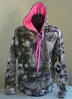Mossy Oak (Ladies) Mountain Country Camo Polyester Performance Pullover Hoodie