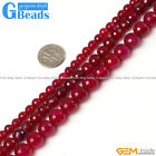 Plum Agate Gemstone Faceted Round Beads For Jewelry Making Free Shipping 15""