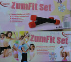 ZumFit Set - 2 Fitness-Sticks DVD Tanz Workout Training Fitness NEU OVP