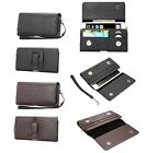 Horizontal Leather Case Card Slot Belt-Clip Holster For Galaxy S6/S7 edge/Note 5