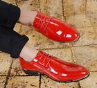 Vogue Men's Retro Pointed Toe Pu Leather Strappy Business Wedding Dress Shoes