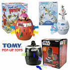 Tomy Pop-Up Olaf / Pop-Up Darth Vader Star Wars / Pop Up Pirate Classic Games