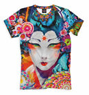 All Over print lsd shirt colorful psychedelic tee Japan EDM pattern