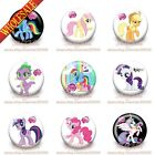 45pcs My Little Pony Buttons pins badges,cloth Brooch Badges 30MM fit kids gifts