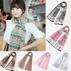 Fashion Long Wrap Lady Women's Shawl Soft Chiffon Scarf Scarves Stole Scarves