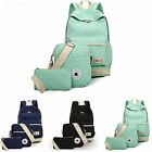 Fashion Canvas Girls Womens Backpack Shoulder Bag Rucksack Travel School bags UK