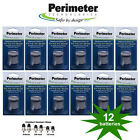 Perimeter Invisible Fence R21 R22 & R51 Dog Collar Batteries (12) & Contacts