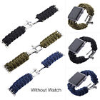 Outdoor Practical Parachute Cord Line Watch Band Strap For Apple Watch IWatch
