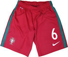 *2016 / 2017 - NIKE ; PORTUGAL HOME SHORTS / No. 6 = SIZE*