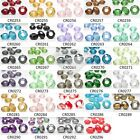 10pcs Crystal facetté Rondelle Perles coupées collier collier Bracelet 14mm