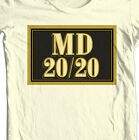 MD 20 / 20 T-shirt Mad Dog MD 20 20 bum wine 100% cotton graphic printed tee