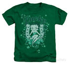 Juvenile: Betty Boop - Lucky Boop Apparel Kids T-Shirt - Kelly Green $14.99 USD on eBay