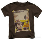 Juvenile: Elvis Presley - Charro Apparel Kids T-Shirt - Coffee