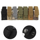 Tactical Single Pouch Open Top Belt Clip Flashlight Holster Case For Hunting New