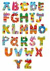 NEW CRAZY ANIMAL Wooden Alphabet Letters by Tatiri - BigJigs Wooden Letters