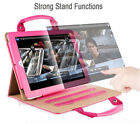Handbag Case Cover Magnetic Handle Leather Wake Holder For Apple iPad Air 2 5 6