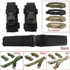 Adjustable Tactical Military Utility Combat Battle Belt W/Dual Pistol Mag Pouch