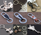 Men Leather Key Chain Metal Car Key Ring Key Holder Gift Personalized ChainsLACA
