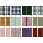 HEAD CASE DESIGNS PLAID LEATHER BOOK WALLET CASE COVER FOR APPLE iPAD MINI 1 2 3