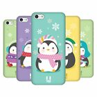 HEAD CASE DESIGNS KAWAII CHRISTMAS PENGUIN HARD BACK CASE FOR APPLE iPHONE 5C