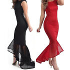 Womens Formal Prom Evening Cocktail Party Bridesmaid Ladies Dress LAUS