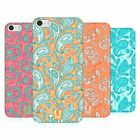 HEAD CASE DESIGNS PAISLEY ANIMALS HARD BACK CASE FOR APPLE iPHONE 5 5S SE