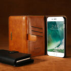 FLOVEME 2 in 1 Retro Leather Flip Magnetic Wallet Case Cover For iPhone 7/7 Plus