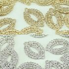 Oval Metal Beads Pendants Gold Silver beads for Jewelry Making Supplies #258