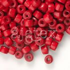 12 Colour Donut Wooden Wood Beads Spacer Dyed Beads Jewelry Makings Crafts 3*4mm
